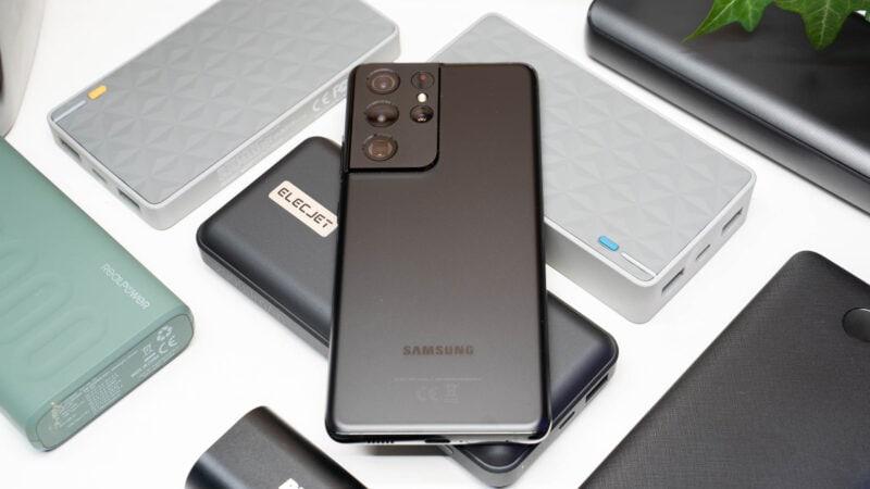 Samsung Galaxy S21 Ideale Powerbank Test 6