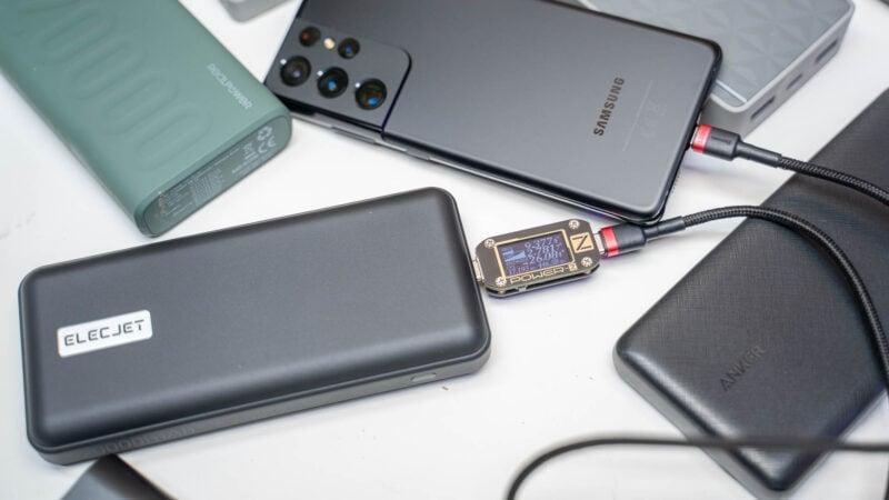 Samsung Galaxy S21 Ideale Powerbank Test 7