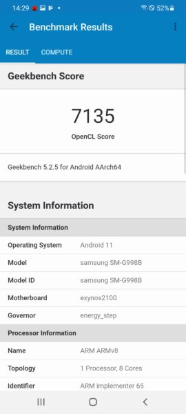 Screenshot 20210202 142919 Geekbench 5