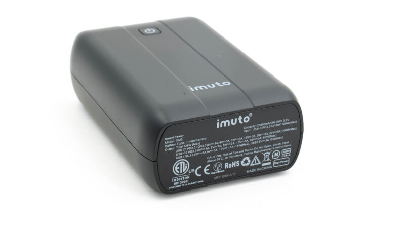 imuto x6g 100w test review 2