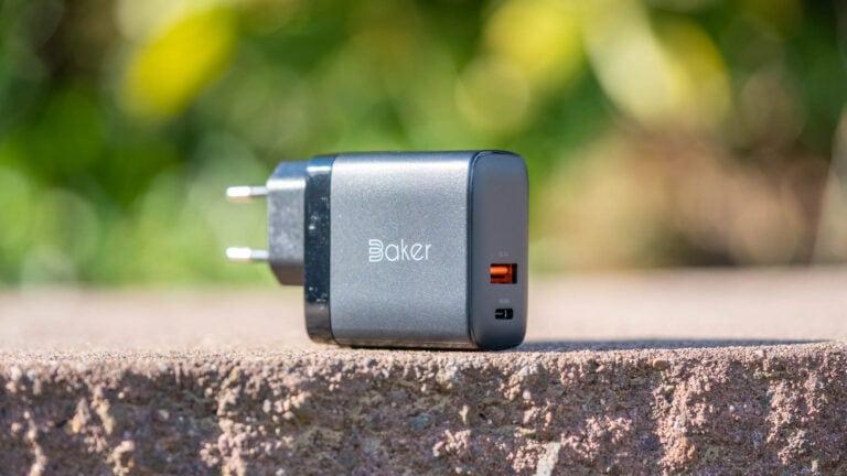Das Baker 36W USB C Wand Ladegerät im Test