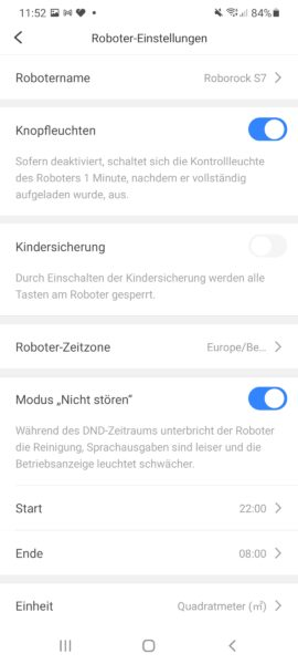 roborock s7 app 8