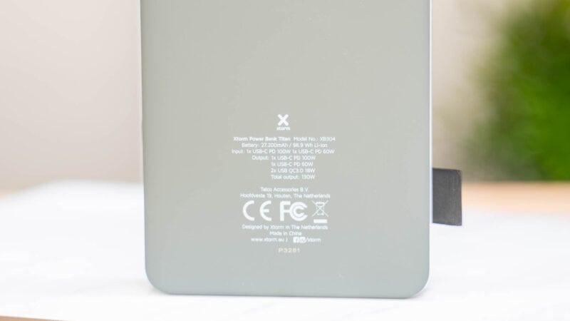 test xtorm xb304, 100w usb c powerbank mit 27200mah kapazität! 11