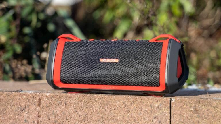 Der AIWA Exos-3 Bluetooth Lautsprecher im Test, 46W Power!