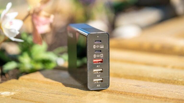 Das Quntis 5-Port 65W USB C Ladegerät im Test, erstaunlicherweise ordentlich!