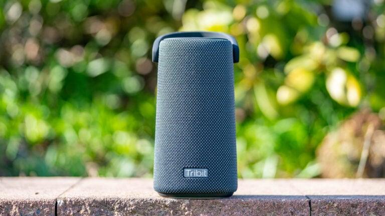 Die Tribit StormBox Pro im Test, guter Klang und schickes Design.