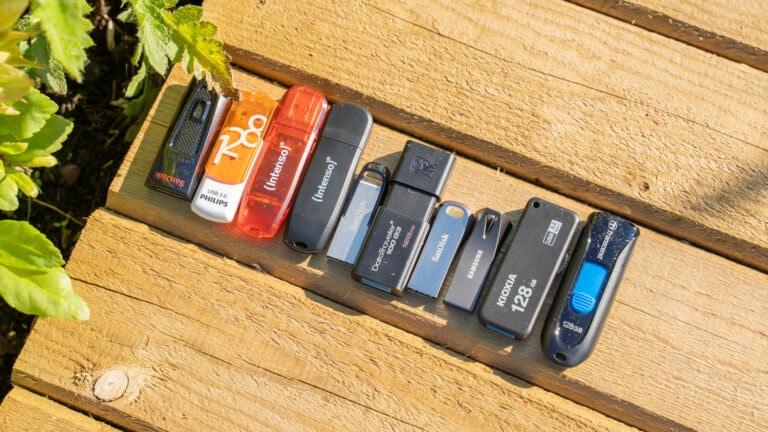 10x 128GB USB Sticks unter 20€ im Vergleich, Sandisk, Intenso, Transcend und Co. Im Vergleich