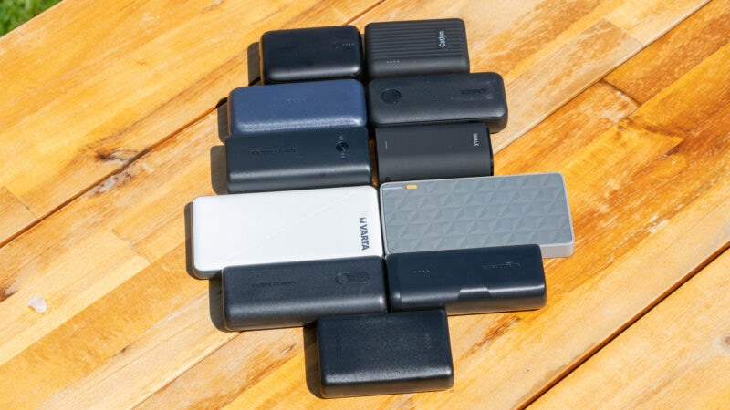 11x kompakte powerbanks fürs wandern im vergleich 10
