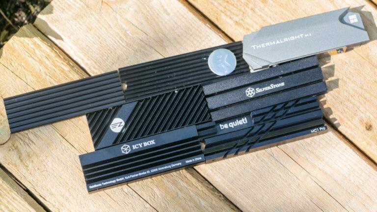 7x NVME SSD Kühler im Test, be quiet!, ICY BOX und Co. im Vergleich