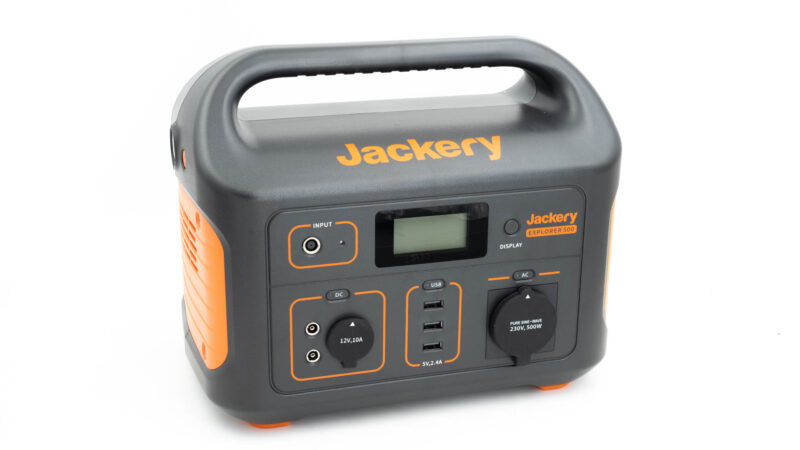 test jackery powerstation explorer 500 1