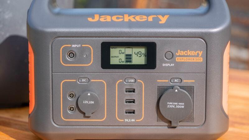 test jackery powerstation explorer 500 10