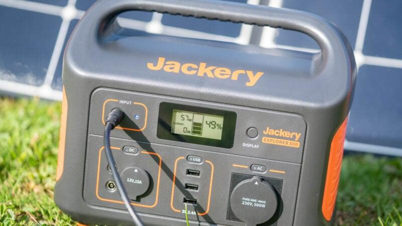 test jackery powerstation explorer 500 12