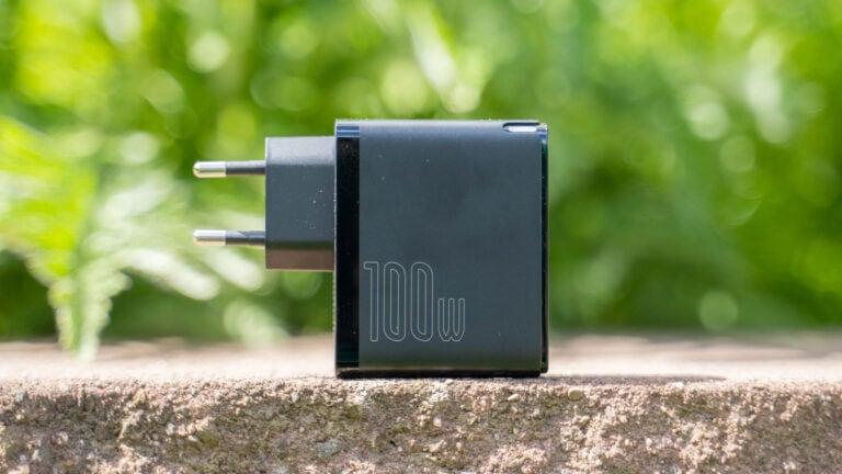 Test: Baseus CCGAN100CE GaN 100W USB Typ C Ladegerät