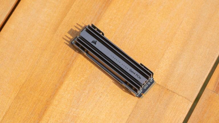 Die Corsair MP600 Core im Test, günstige PCIe 4.0 SSD mit QLC Speicher