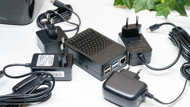 Netzteile für das Raspberry Pi 4 im Vergleich, welches ist das beste und effizienteste?