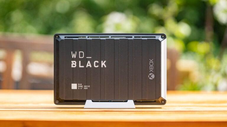 Die schnellste externe HDD 2021, Western Digital WD_Black D10 Game Drive im Test