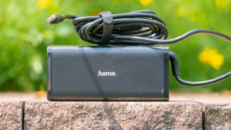 Das Hama Universal-USB-C-Notebook-Netzteil im Test, erfreulich ordentlich!