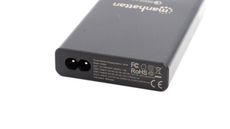 manhattan power delivery charging station 65w test review 3