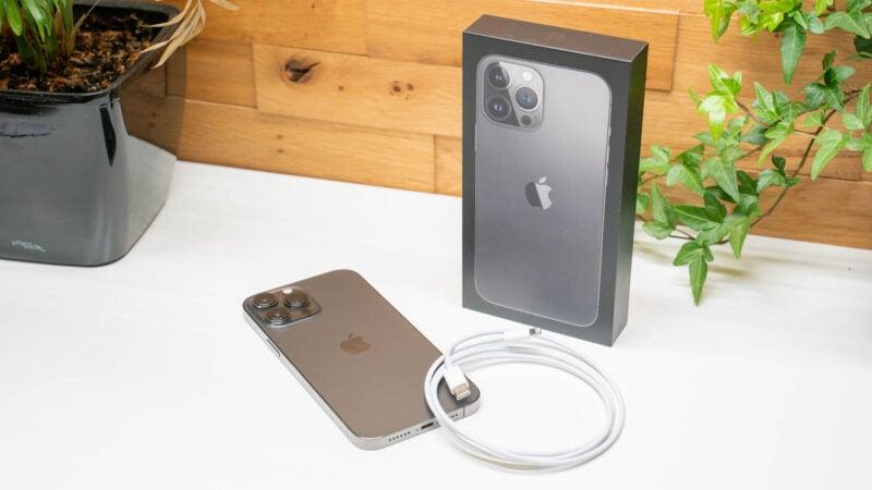 apple iphone 13 pro max ladetempo und ladestandard 2