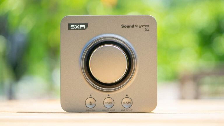 Test: Creative Sound Blaster X4, top externe Soundkarte falls Onboard nicht reicht!