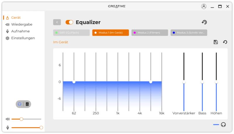 creative soundblaster x4 software 3