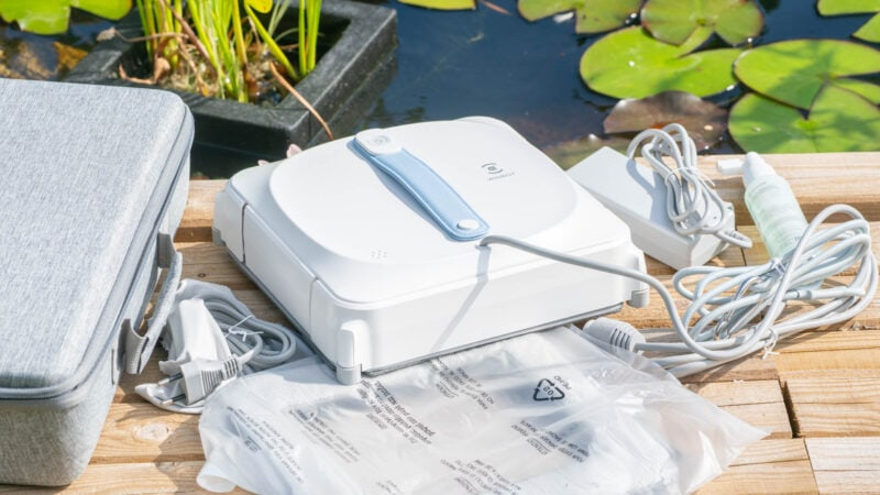 ecovacs winbot 920 test review 3