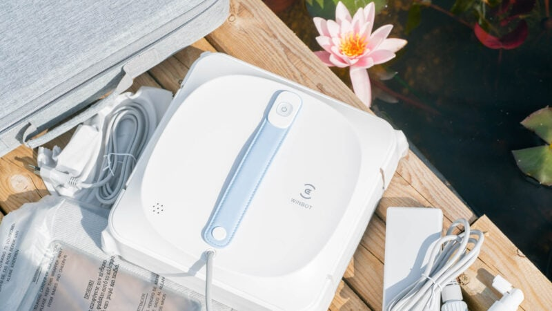 ecovacs winbot 920 test review 4
