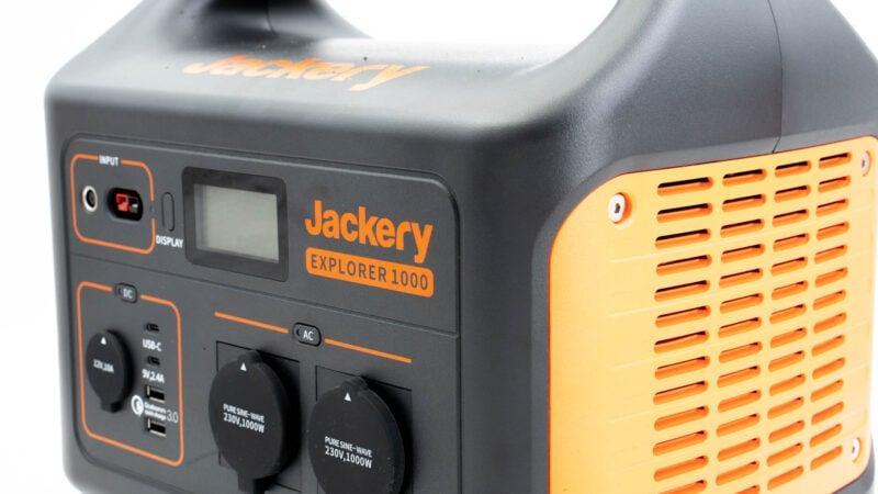 jackery powerstation explorer 1000 test review 4