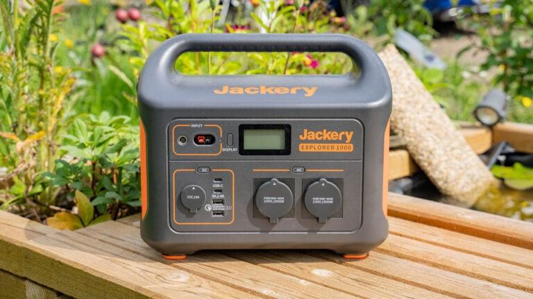 1000Wh Kapazität! Jackery Die Powerstation Explorer 1000 im Test