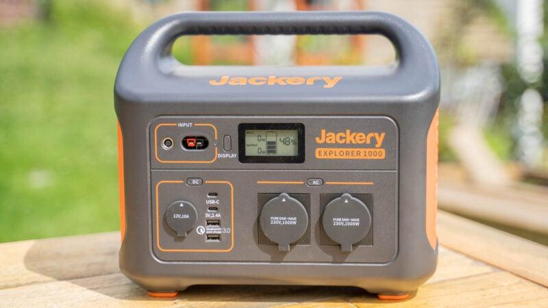 jackery powerstation explorer 1000 test review 8