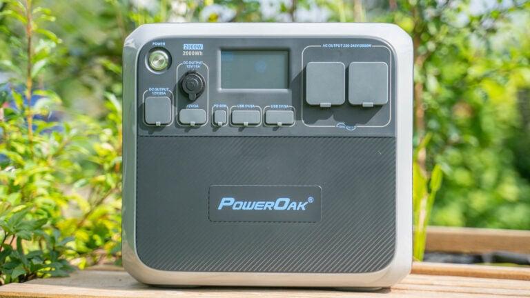PowerOak AC200P Powerstation und Notstromaggregat im Test, satte 2000Wh Kapazität!