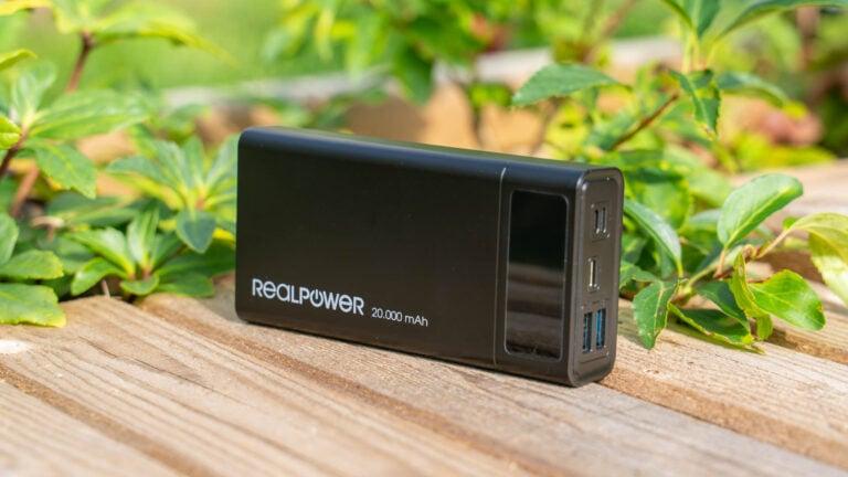 Die beste Allorund Powerbank aktuell! USB PD + QC, 20000mAh unter 30€, die RealPower PB-20k PD im Test