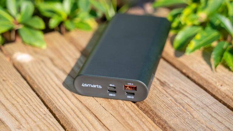 Unter 70€, 100W USB C, PPS und 20000mAh Kapazität, die 4smarts Enterprise 2 20000mAh im Test