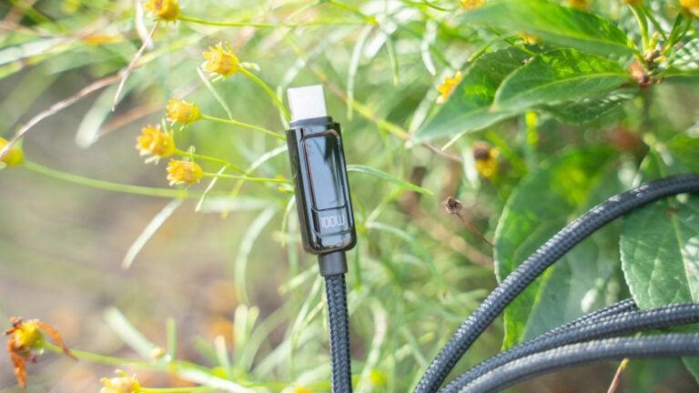 100W USB C Kabel mit Display für 12,99€! Das mcdodo 100W 5A PD QC 4.0 Schnellladekabel